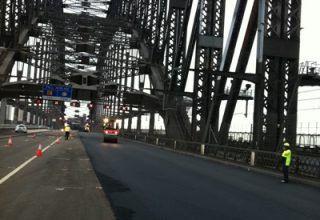 Harbour Bridge Paving