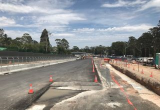 warringah road works